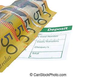 Deposit - Australian money deposit