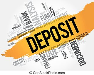 DEPOSIT word cloud