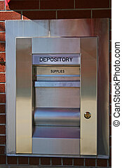 Depository - A Night depository at a local bank