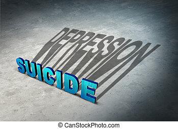 depresión, suicidio