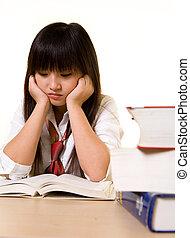 Depressed student
