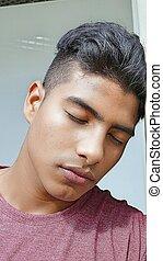 Depressed Teen Boy