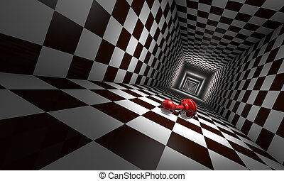 Depression (chess metaphors) - Little red pawn in the chess ...