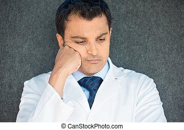 deprimiert, gesundheitsfürsorge fachmann