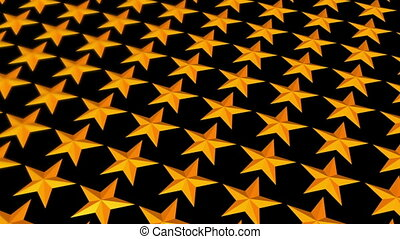 Depth of Field Gold Stars Loop