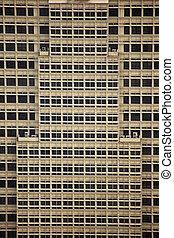derékszögű, példa, közül, windows, és, épület tervezés, képben látható, skyscaper, alatt, kuala lumpur, malaysia