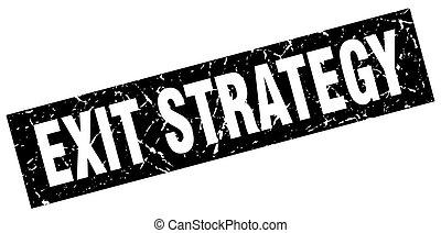 derékszögben, grunge, fekete, kijárat, stratégia, bélyeg