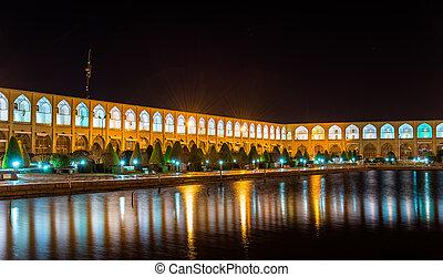 derékszögben, irán, naqsh-e, -, jahan, isfahan