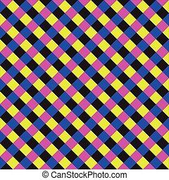 derékszögben, sakkjáték, színes
