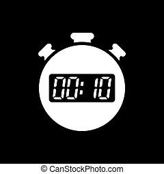10 minuten uhr sekunden zeichen zeitgeber web symbol wohnung ui countdown uhr. Black Bedroom Furniture Sets. Home Design Ideas