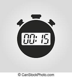 Wohnung 15 minuten uhr sekunden zeichen zeitgeber for Wohnung design app