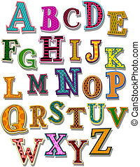 der, alphabet