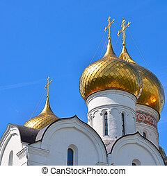 der, alte kirche, stadt, von, yaroslavl
