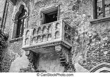 Italien Verona Romeo Beruhmt Juliet Balkon Balkon Verona