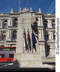 der, cenotaph, london