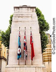 der, cenotaph, london, hdr