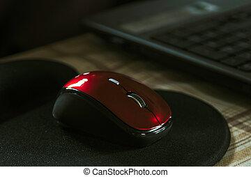 der, drahtlose computermaus