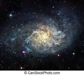 der, galaxie