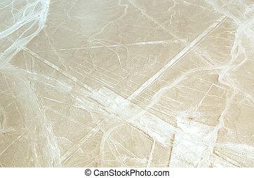 der, geoglyphs, von, nazca
