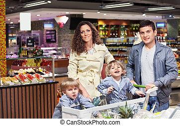 der, glückliche familie