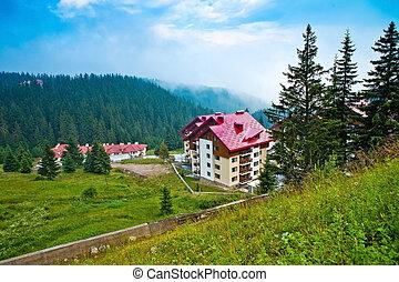 der, häusser, und, hotels, in, bulgarien