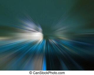 der, lichtgeschwindigkeit, straße