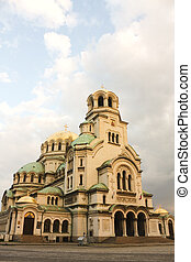 der, str., alexander, nevsky, kathedrale, sofia, bulgarien