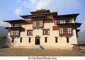 der, trashigang, dzong