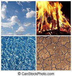 der, vier elemente