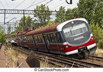 derailment, trein