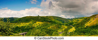 derbyshire, wizje lokalne