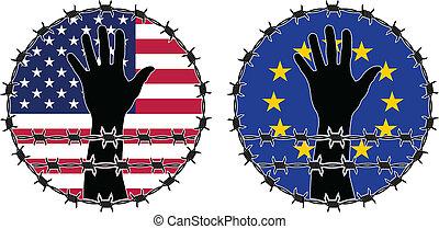 derechos humanos, violación