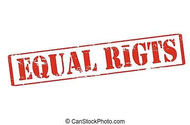 derechos iguales