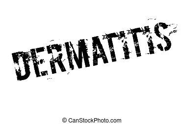 Dermatitis typographic stamp - Dermatitis. Typographic stamp...
