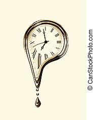 Derretimiento, concepto, tiempo