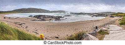Derrynane Beach Panoramic