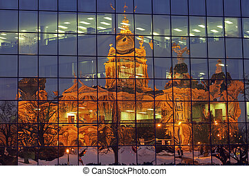 des moines, 衣阿華, -, 說明美國洲議會大廈大樓
