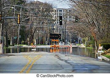 Des Plain River Flood