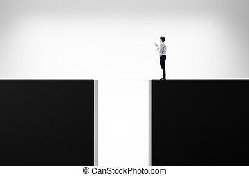 desafio, risco, conceito, direção