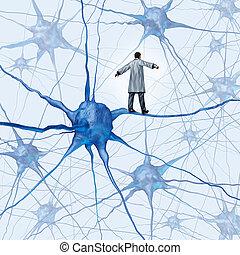 desafios, cérebro, pesquisa