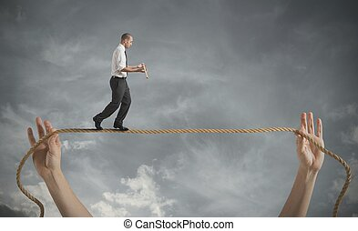 desafios, vida, riscos, negócio