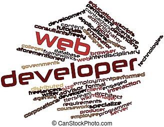 desarrollador de web