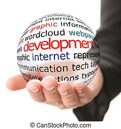 desarrollo, concepto, social