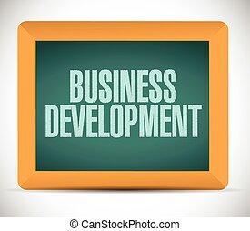 desarrollo negocio, mensaje