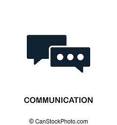 desarrollo, plano, iconos de computadora, comunicación...