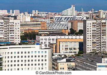 desarrollo, residencial, denso