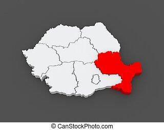 desarrollo, sudeste, región, romania.