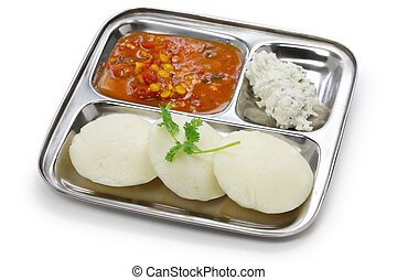 desayuno, indio, sur