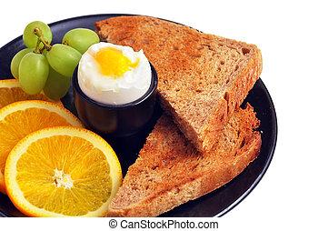 desayuno sano, delicioso