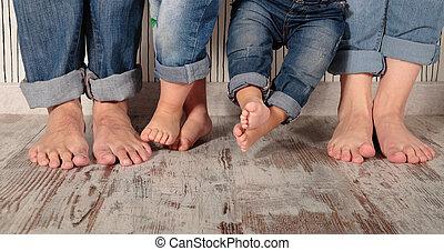 descalzo, familia